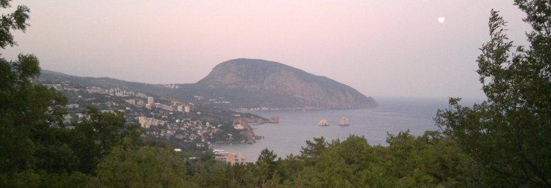 Góra Ajudah - jeden z symboli Krymu