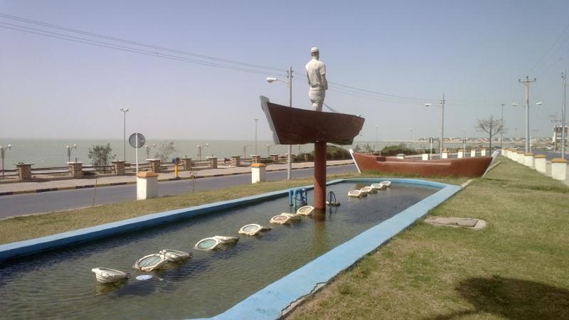 Promenada w Bushehr
