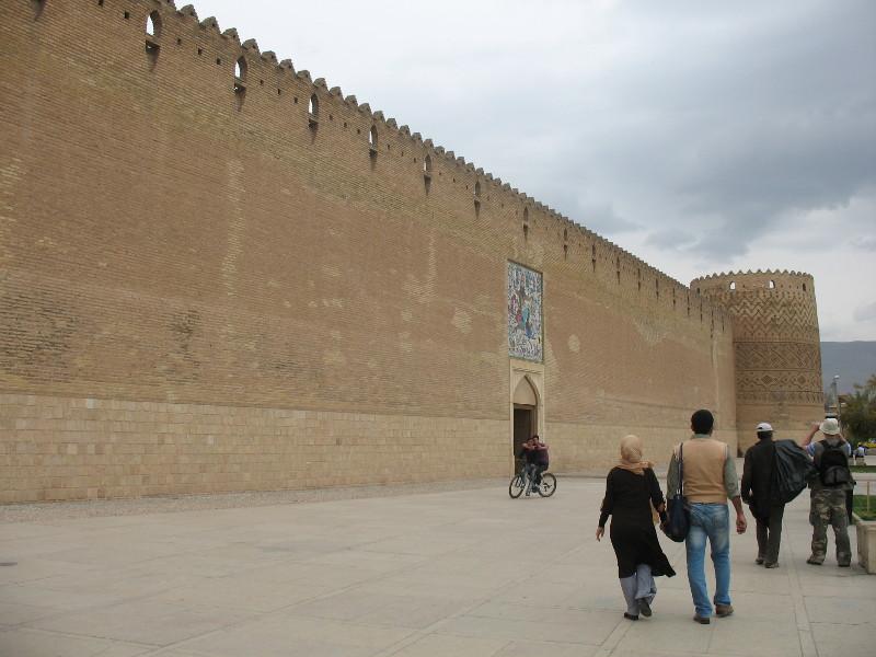 Zamek w Sziraz