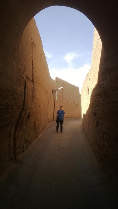 Kolejna uliczka w Yazd