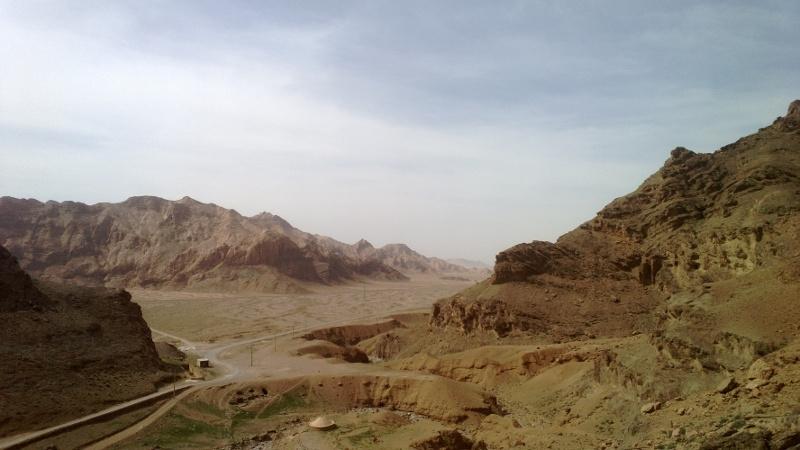 Widok z Czak Czak na pustynię. Najlepszy widok w całym Iranie