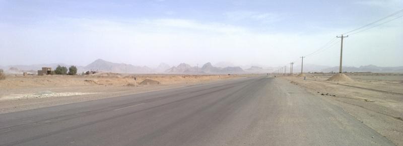 Pustynia w drodze z Czak Czak do Yazd