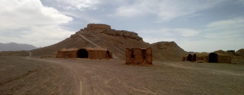 Wieża milczenia w okolicach Yazd